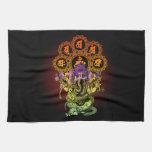 Ganesha Guitar 01 Hand Towels