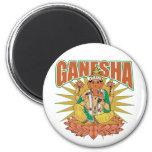 Ganesha hindú imán de frigorífico