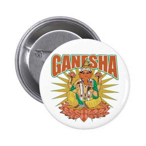 Ganesha hindú pin