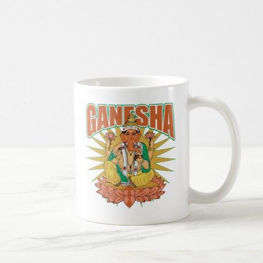 Ganesha hindú taza clásica