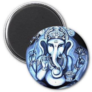Ganesha Imán Redondo 5 Cm