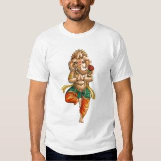 Ganesha in a Vrksasana (Tree) Yoga Pose Tee Shirts