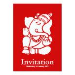 """Ganesha Invitación 5"""" X 7"""""""