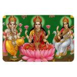 Ganesha, Lakshmi, & Saraswati Magnet