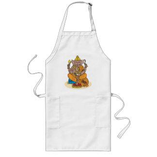 Ganesha Long Apron