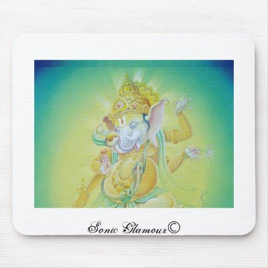 Ganesha Luv Mouse Pad