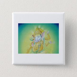 Ganesha Luv Pinback Button