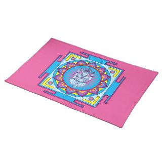 Ganesha Mandala Cloth Placemat