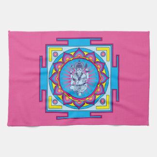 Ganesha Mandala Hand Towel