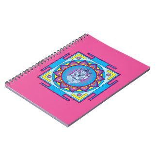 Ganesha Mandala Notebook