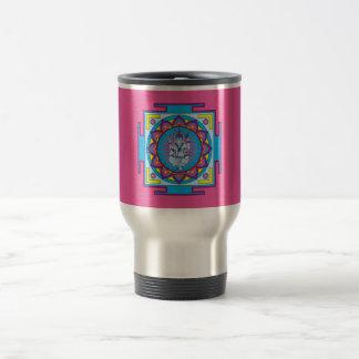 Ganesha Mandala Travel Mug
