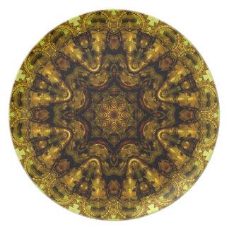 Ganesha Melamine Plate