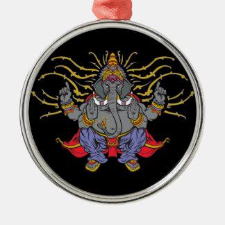 Ganesha Metal Ornament
