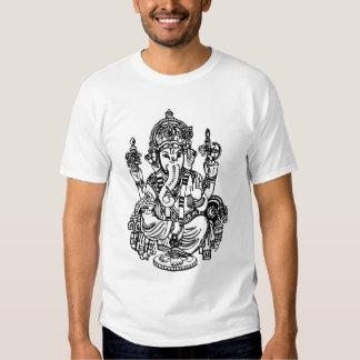 Ganesha - muestra hindú de dios camisas
