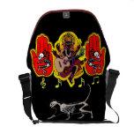 Ganesha Music Hands Commuter Bags