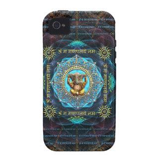 Ganesha- Om Gam Ganapataye Namah iPhone 4/4S Cases