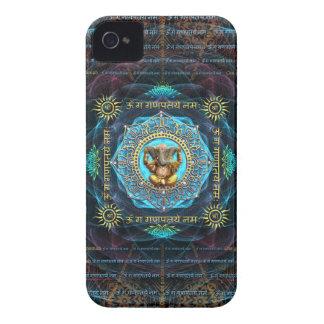 Ganesha- Om Gam Ganapataye Namah Case-Mate iPhone 4 Case