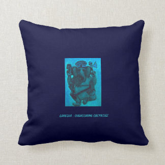 GANESHA OVERCOMER OF OBSTACLES THROW PILLOWS