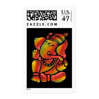 Ganesha Painting Postage