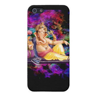 Ganesha picture on electronic s, magnets, etc cover for iPhone SE/5/5s