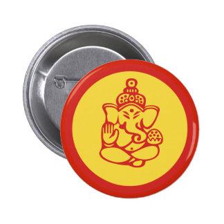 Ganesha Pinback Button
