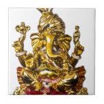 Ganesha por los diseños de Vanwinkle Azulejo