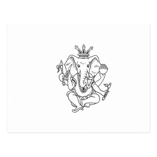 Ganesha Postales