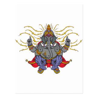 Ganesha Postcard