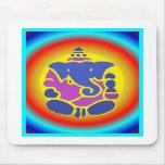 Ganesha rainbow mousepad