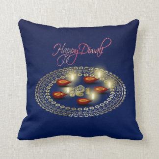 Ganesha Rangoli - almohada de Diwali