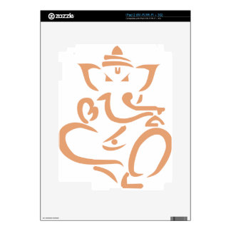 Ganesha rosado #2 skins para iPad 2