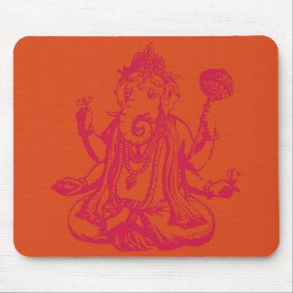 Ganesha Stamp Mouse Pad