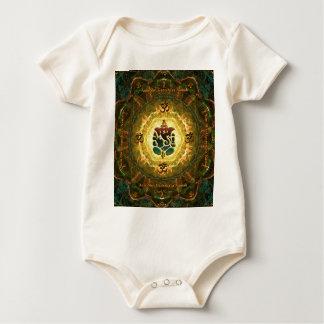 Ganesha - Success, Victory, Prosperity, Knowledge Baby Bodysuit