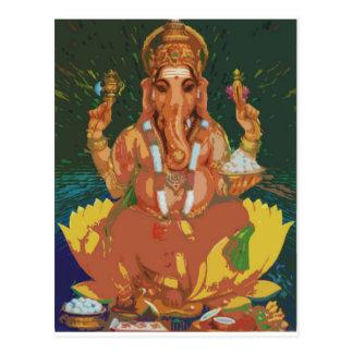 Ganesha Tarjeta Postal