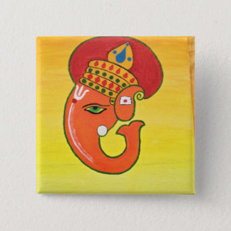 Ganesha the remover of all obstacles pinback button