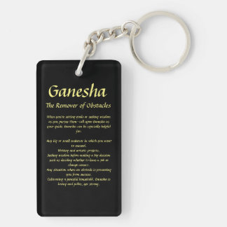 Ganesha: The Remover of Obstacles : Key Chain