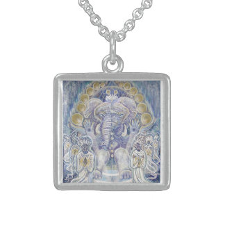 Ganesha Wealth Blessing Necklaces and Lockets