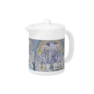 Ganesha Wealth Blessing Teapot