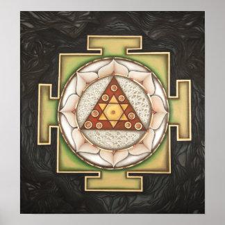 Ganesha Yantra Print