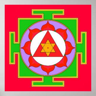 Ganesha Yantra Poster