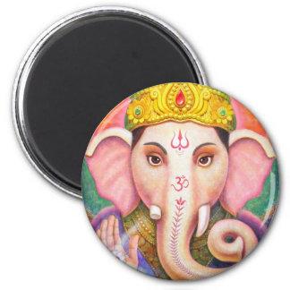 Ganesha's Blessings Fridge Magnet
