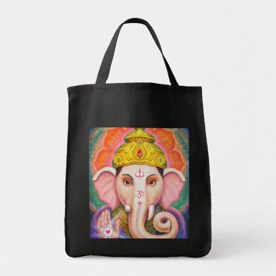 Ganesha's Blessings Tote Bag