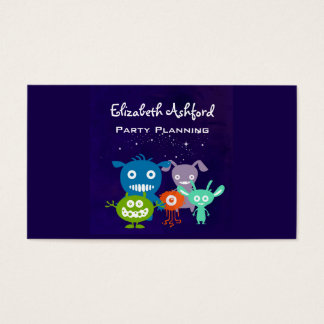 Gang Of Cute Creatures Business Card