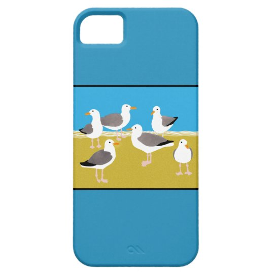 Gang of Seagulls iPhone SE/5/5s Case