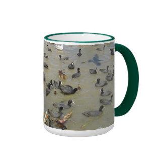 Gang of Water Fowl Ringer Mug