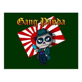 Gang Panda Post Cards