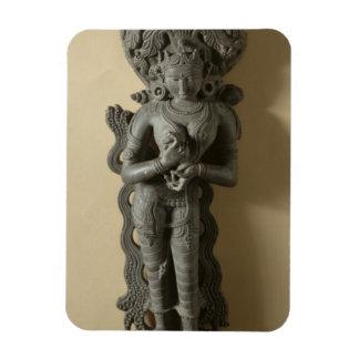 Ganga, diosa que personifica el río sagrado GA Iman Flexible