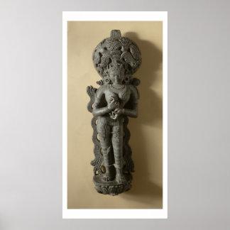 Ganga, diosa que personifica el río sagrado GA Impresiones
