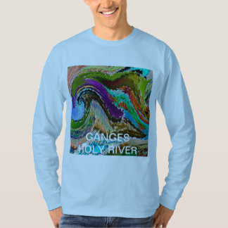 GANGA Ganges Holy River  :Basic Long Sleeve T-Shirt