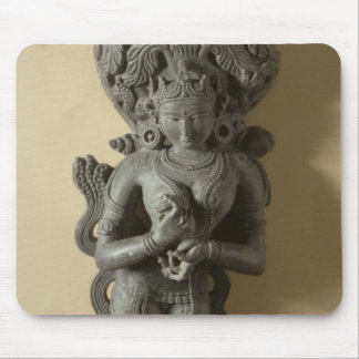 Ganga, goddess who personifies the sacred River Ga Mouse Pad